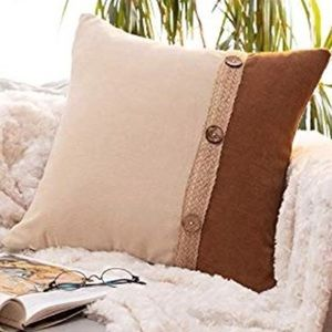 Other - Rustic decorative pillow case